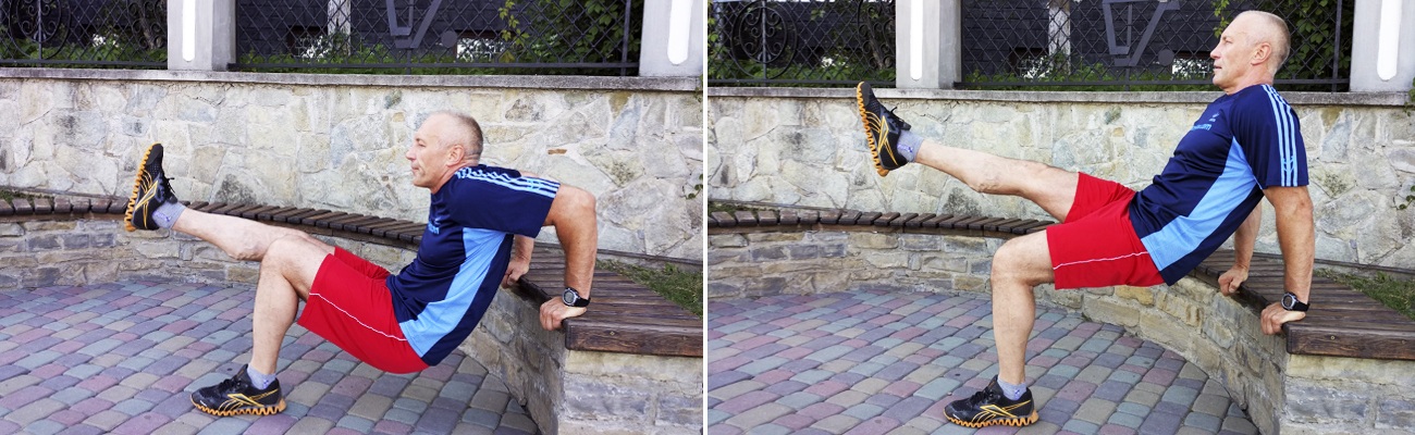 Single-Leg-Triceps-Dip-Park-Bench-Workout